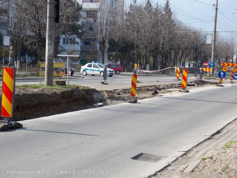 Traseul 102, etapa I: Bucla Nord ( Sp. Județean ) - Intersecție Republicii Dscn0229