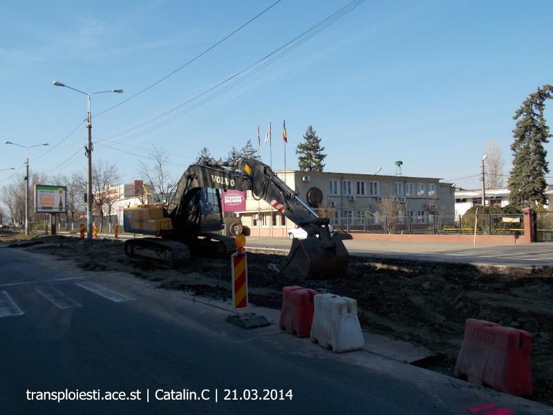 Traseul 102, etapa I: Bucla Nord ( Sp. Județean ) - Intersecție Republicii Dscn0345