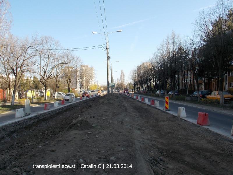 Traseul 102, etapa I: Bucla Nord ( Sp. Județean ) - Intersecție Republicii Dscn0346