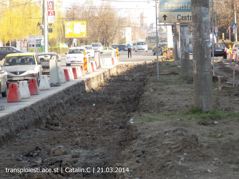 Traseul 102, etapa I: Bucla Nord ( Sp. Județean ) - Intersecție Republicii Dscn0347