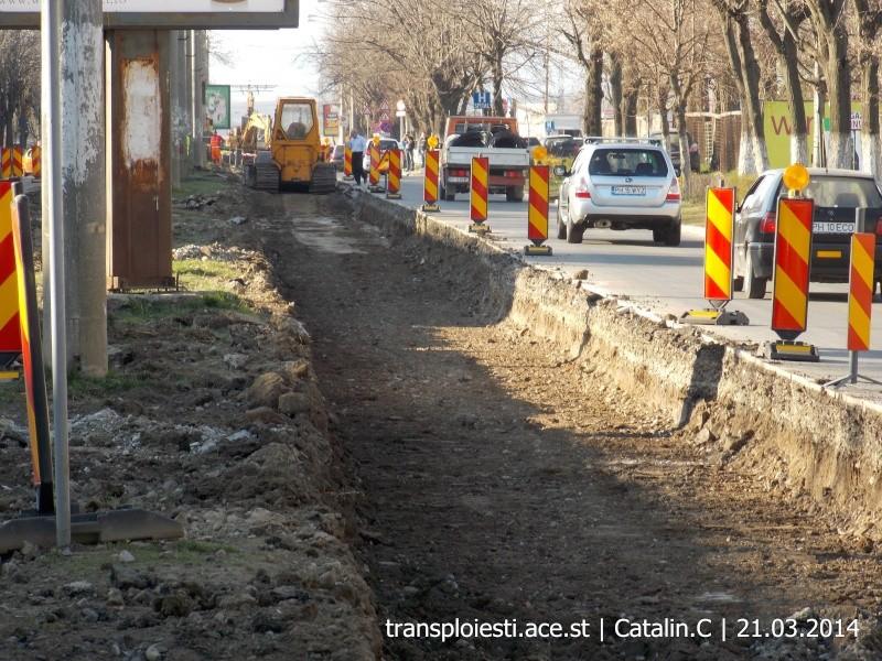 Traseul 102, etapa I: Bucla Nord ( Sp. Județean ) - Intersecție Republicii Dscn0348