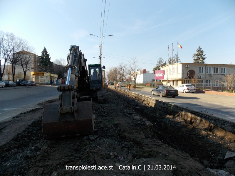 Traseul 102, etapa I: Bucla Nord ( Sp. Județean ) - Intersecție Republicii Dscn0349