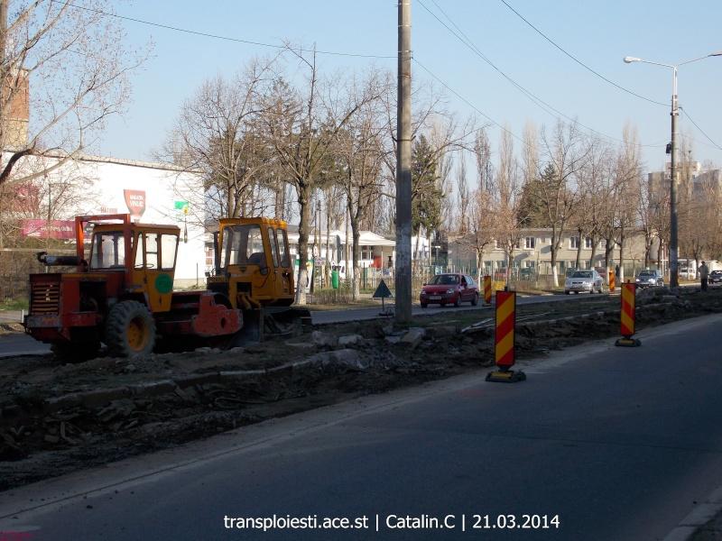 Traseul 102, etapa I: Bucla Nord ( Sp. Județean ) - Intersecție Republicii Dscn0353