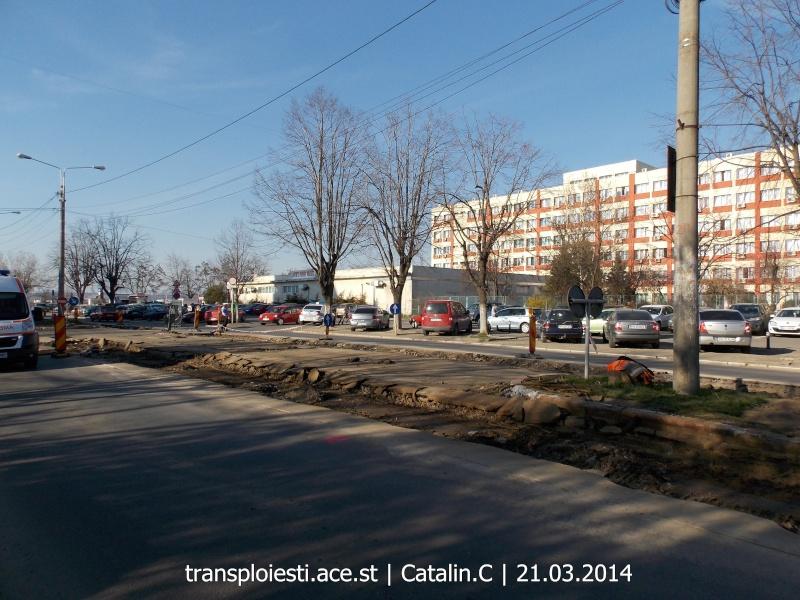 Traseul 102, etapa I: Bucla Nord ( Sp. Județean ) - Intersecție Republicii Dscn0355