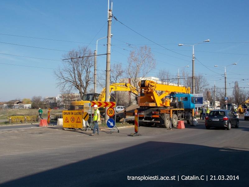 Traseul 102, etapa I: Bucla Nord ( Sp. Județean ) - Intersecție Republicii Dscn0365