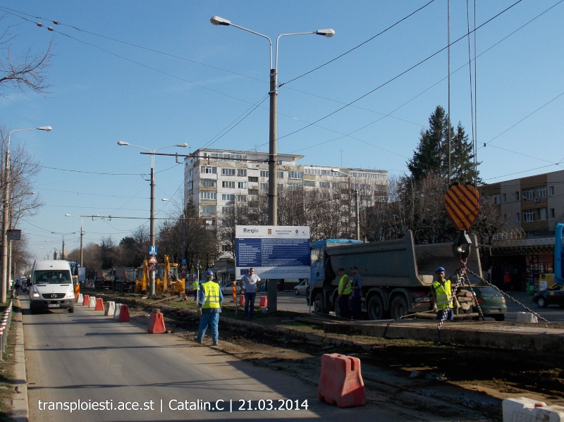 Traseul 102, etapa I: Bucla Nord ( Sp. Județean ) - Intersecție Republicii Dscn0366