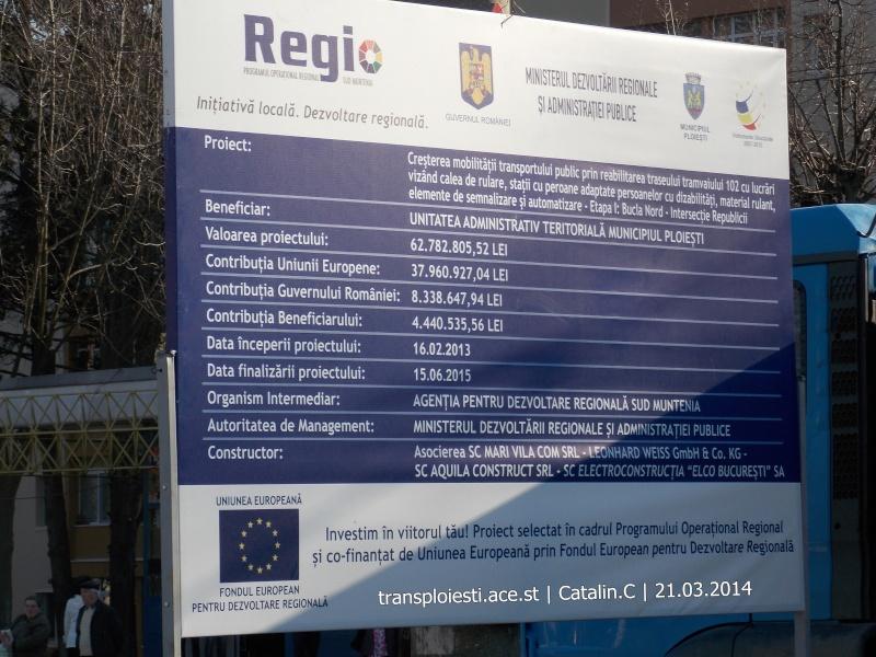 Traseul 102, etapa I: Bucla Nord ( Sp. Județean ) - Intersecție Republicii Dscn0367