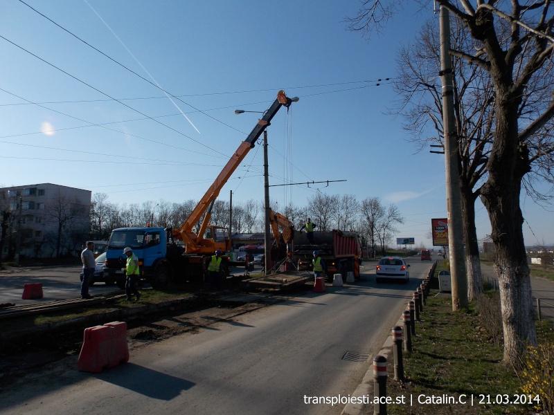 Traseul 102, etapa I: Bucla Nord ( Sp. Județean ) - Intersecție Republicii Dscn0369