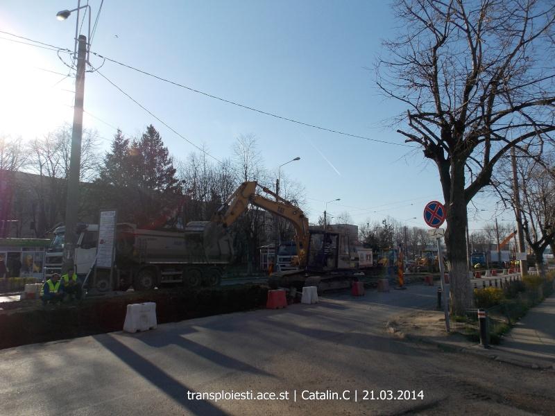 Traseul 102, etapa I: Bucla Nord ( Sp. Județean ) - Intersecție Republicii Dscn0370