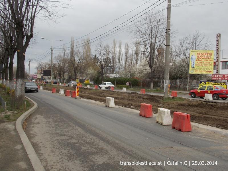 Traseul 102, etapa I: Bucla Nord ( Sp. Județean ) - Intersecție Republicii Dscn0373