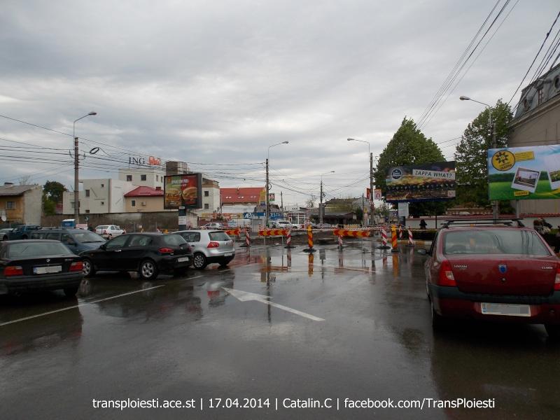 Traseul 101, etapa II: Intersecție Candiano Popescu ( zona BCR ) - Gara de Sud Dscn0381
