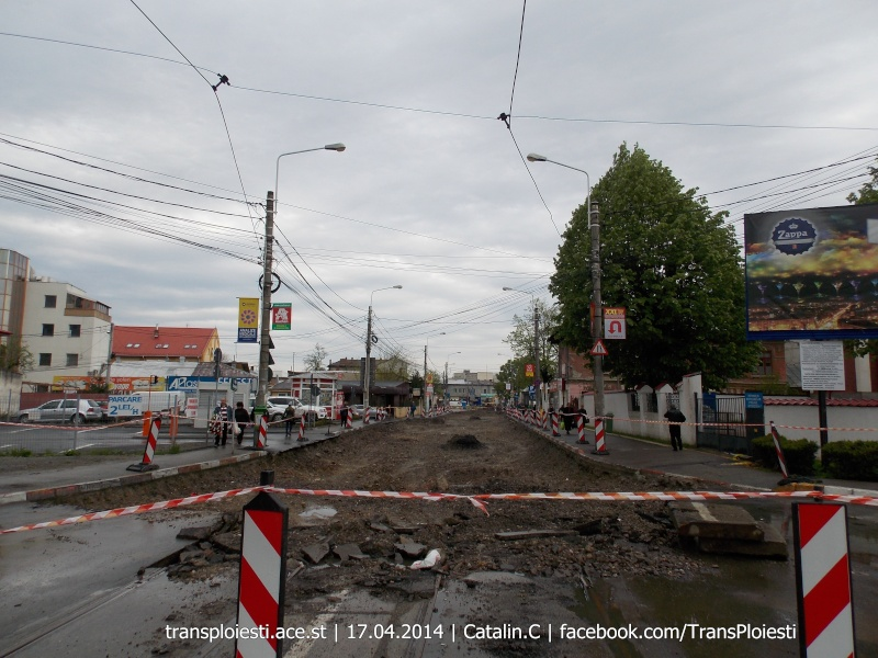 Traseul 101, etapa II: Intersecție Candiano Popescu ( zona BCR ) - Gara de Sud Dscn0382