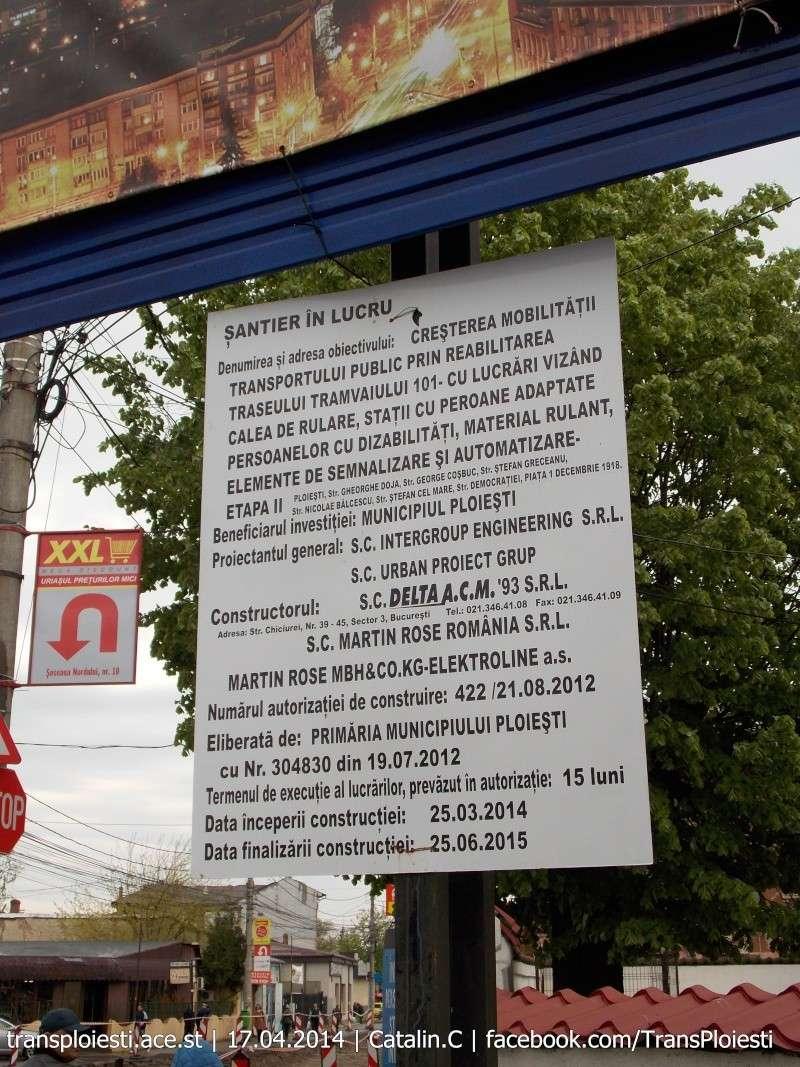 Traseul 101, etapa II: Intersecție Candiano Popescu ( zona BCR ) - Gara de Sud Dscn0384