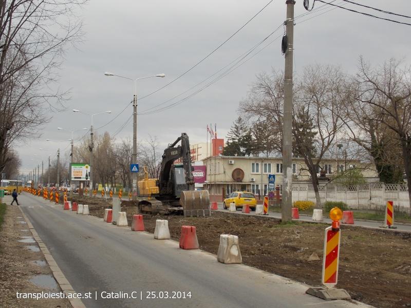 Traseul 102, etapa I: Bucla Nord ( Sp. Județean ) - Intersecție Republicii Dscn0410