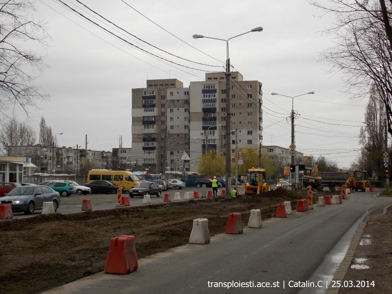 Traseul 102, etapa I: Bucla Nord ( Sp. Județean ) - Intersecție Republicii Dscn0411