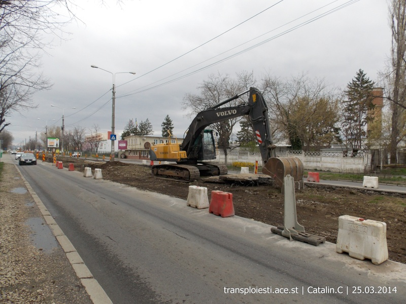 Traseul 102, etapa I: Bucla Nord ( Sp. Județean ) - Intersecție Republicii Dscn0412