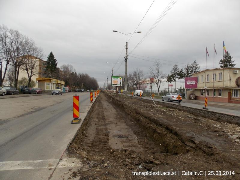 Traseul 102, etapa I: Bucla Nord ( Sp. Județean ) - Intersecție Republicii Dscn0413
