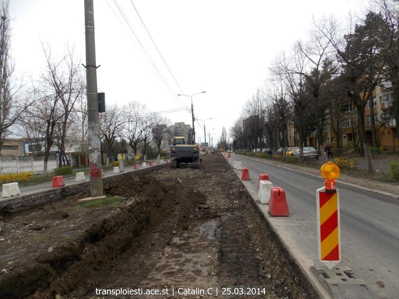 Traseul 102, etapa I: Bucla Nord ( Sp. Județean ) - Intersecție Republicii Dscn0414