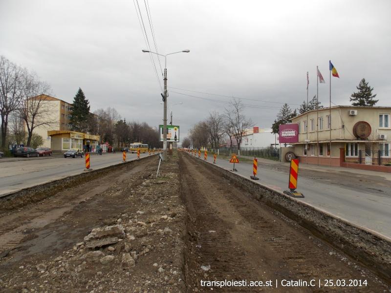 Traseul 102, etapa I: Bucla Nord ( Sp. Județean ) - Intersecție Republicii Dscn0415