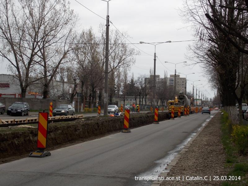 Traseul 102, etapa I: Bucla Nord ( Sp. Județean ) - Intersecție Republicii Dscn0418