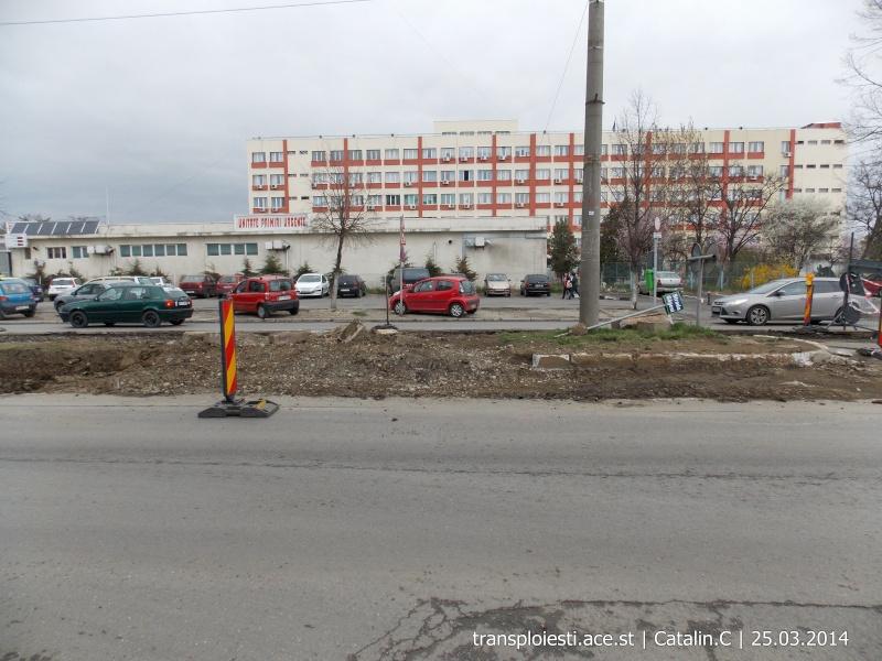 Traseul 102, etapa I: Bucla Nord ( Sp. Județean ) - Intersecție Republicii Dscn0419