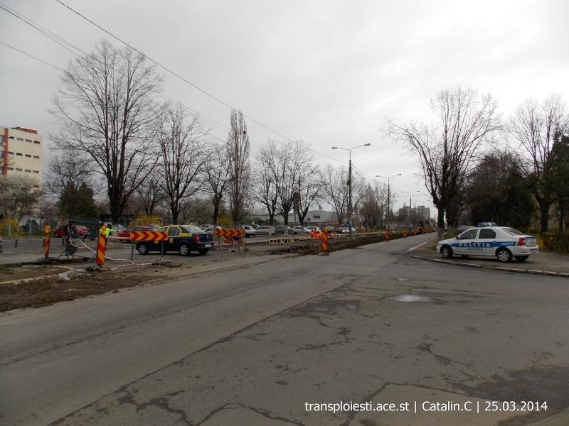 Traseul 102, etapa I: Bucla Nord ( Sp. Județean ) - Intersecție Republicii Dscn0420