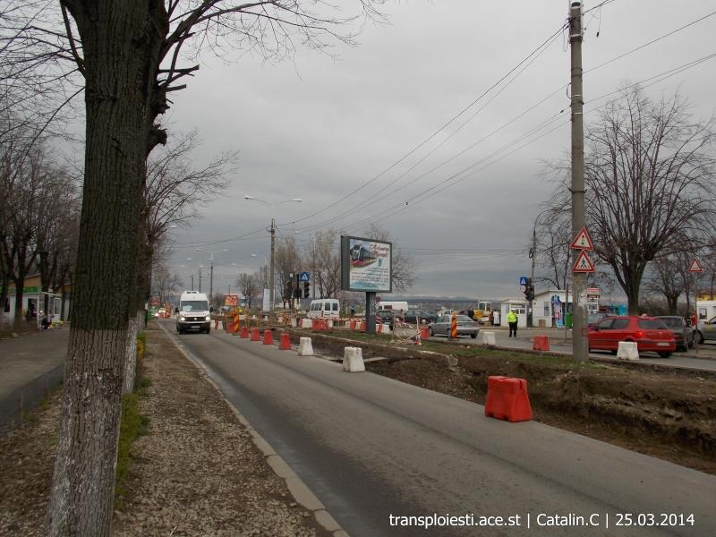 Traseul 102, etapa I: Bucla Nord ( Sp. Județean ) - Intersecție Republicii Dscn0421