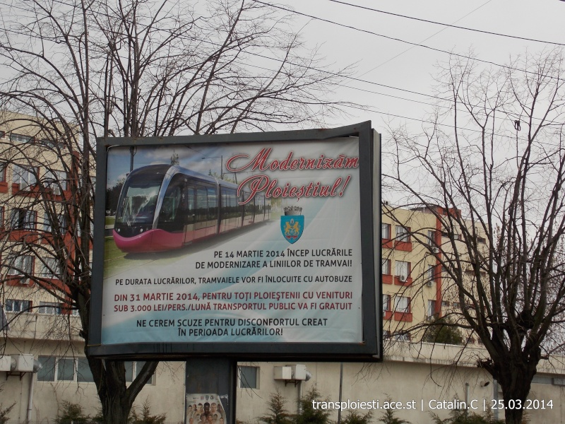 Traseul 102, etapa I: Bucla Nord ( Sp. Județean ) - Intersecție Republicii Dscn0422