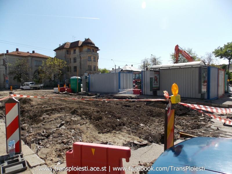 Traseul 101, etapa II: Intersecție Candiano Popescu ( zona BCR ) - Gara de Sud Dscn0472