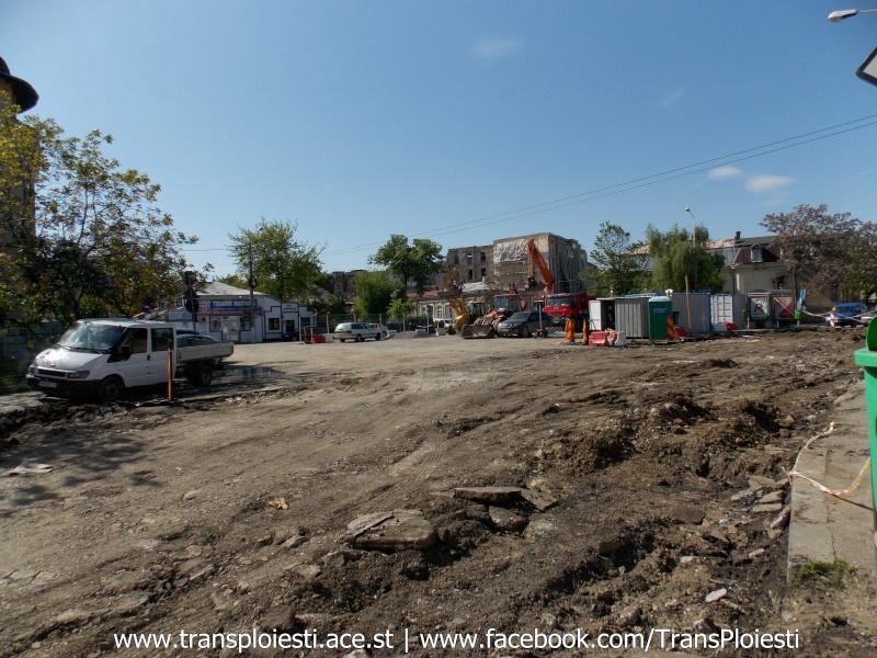 Traseul 101, etapa II: Intersecție Candiano Popescu ( zona BCR ) - Gara de Sud Dscn0473
