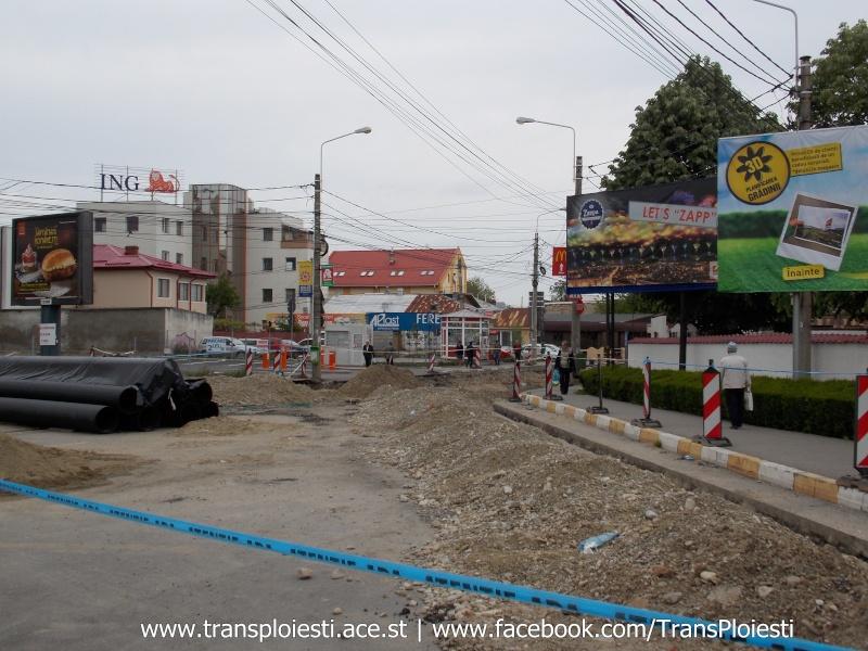 Traseul 101, etapa II: Intersecție Candiano Popescu ( zona BCR ) - Gara de Sud Dscn0558