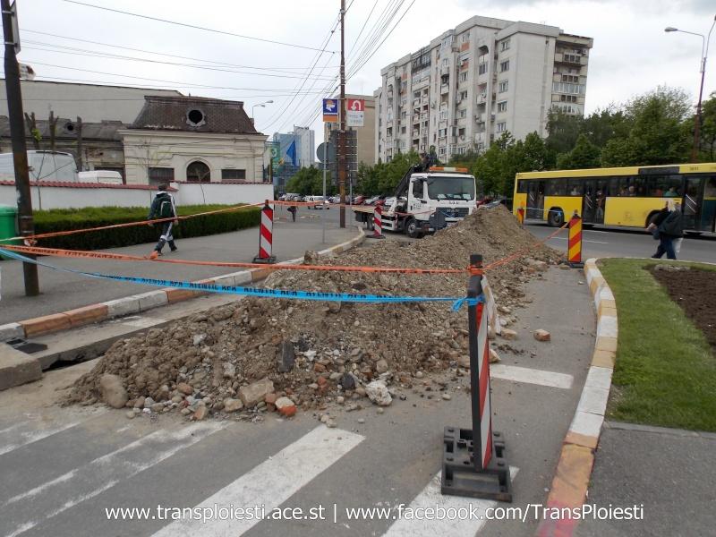 Traseul 101, etapa II: Intersecție Candiano Popescu ( zona BCR ) - Gara de Sud Dscn0559
