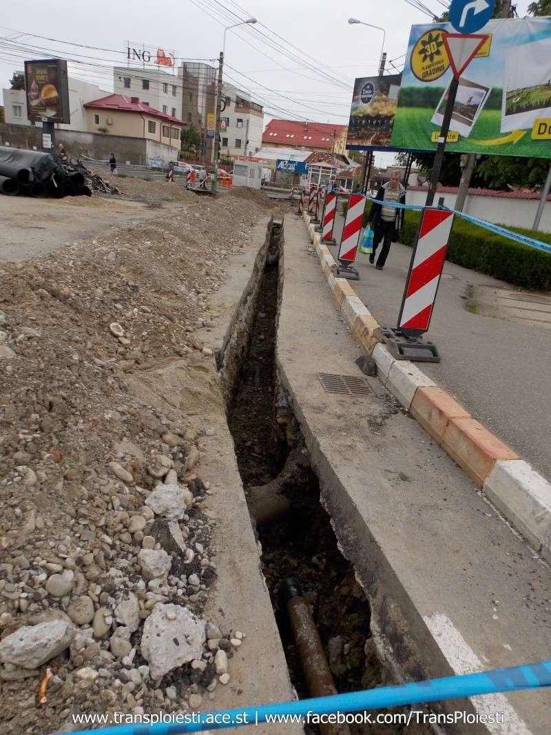 Traseul 101, etapa II: Intersecție Candiano Popescu ( zona BCR ) - Gara de Sud Dscn0560