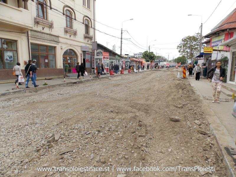 Traseul 101, etapa II: Intersecție Candiano Popescu ( zona BCR ) - Gara de Sud Dscn0563