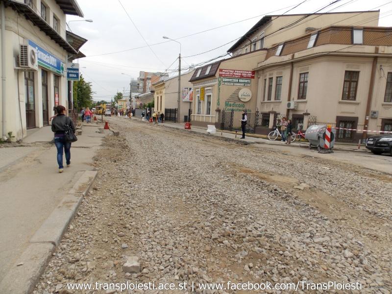 Traseul 101, etapa II: Intersecție Candiano Popescu ( zona BCR ) - Gara de Sud Dscn0564