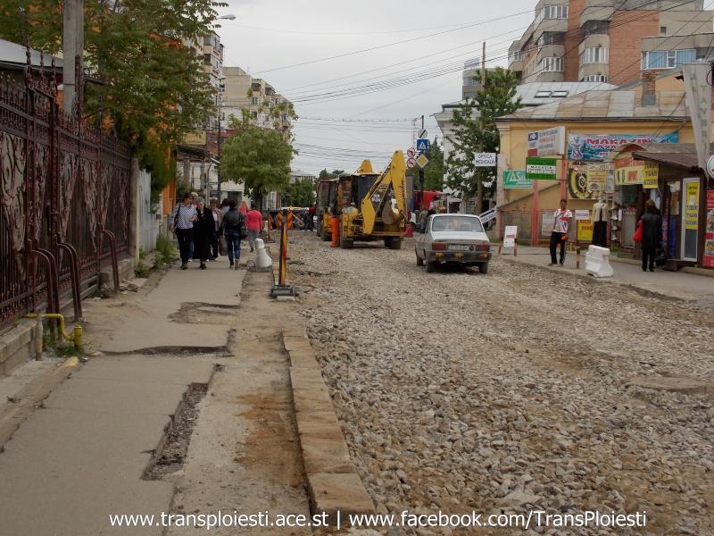 Traseul 101, etapa II: Intersecție Candiano Popescu ( zona BCR ) - Gara de Sud Dscn0565