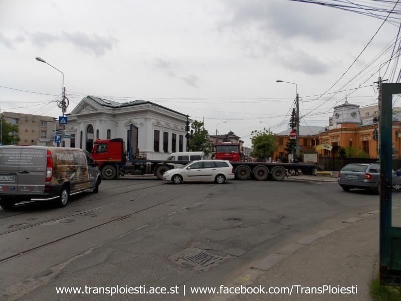 Traseul 101, etapa II: Intersecție Candiano Popescu ( zona BCR ) - Gara de Sud Dscn0566