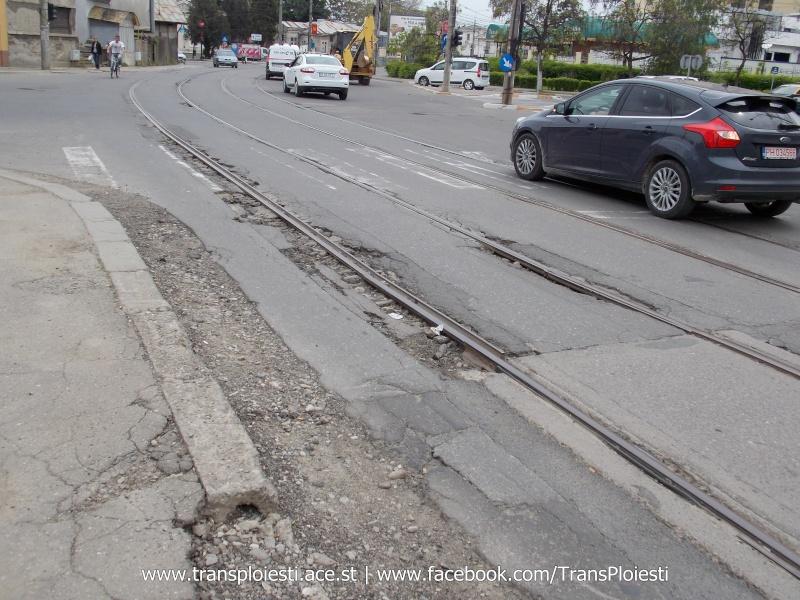 Traseul 101, etapa II: Intersecție Candiano Popescu ( zona BCR ) - Gara de Sud Dscn0567