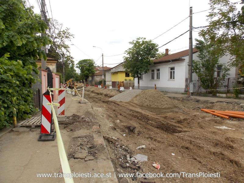 Traseul 101, etapa II: Intersecție Candiano Popescu ( zona BCR ) - Gara de Sud Dscn0568