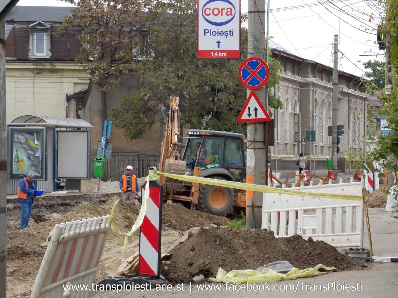 Traseul 101, etapa II: Intersecție Candiano Popescu ( zona BCR ) - Gara de Sud Dscn0569