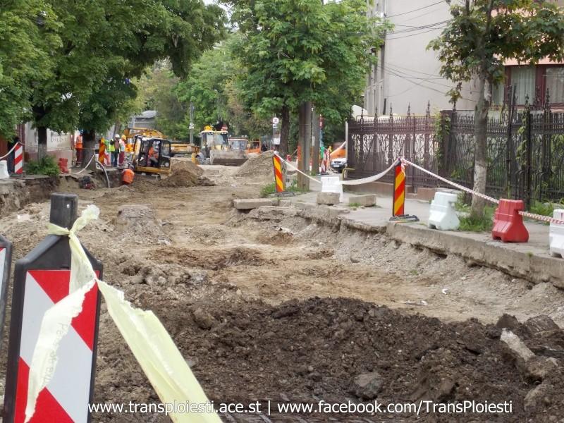 Traseul 101, etapa II: Intersecție Candiano Popescu ( zona BCR ) - Gara de Sud Dscn0570