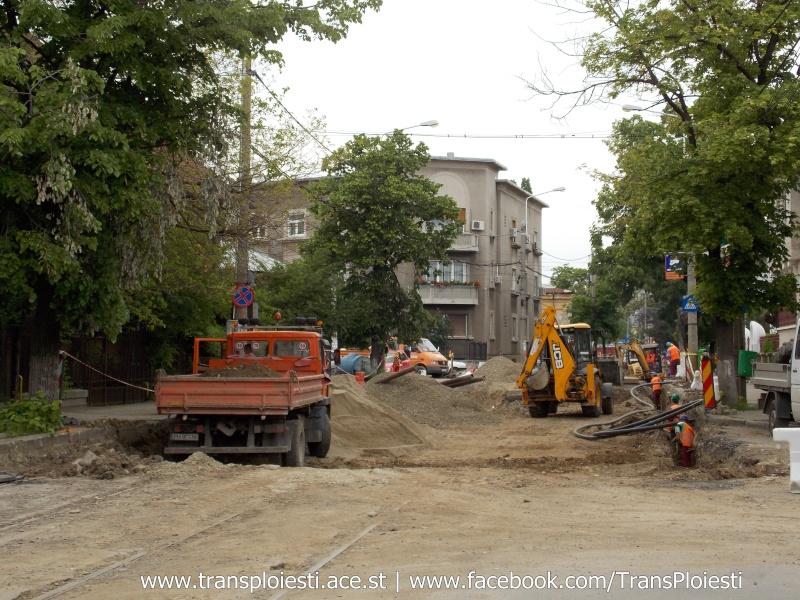 Traseul 101, etapa II: Intersecție Candiano Popescu ( zona BCR ) - Gara de Sud Dscn0574