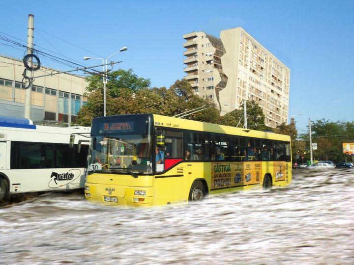 Discuții, știri, noutăți legate de proiectul privind gratuitatea serviciului de transport public. Ratp-c10