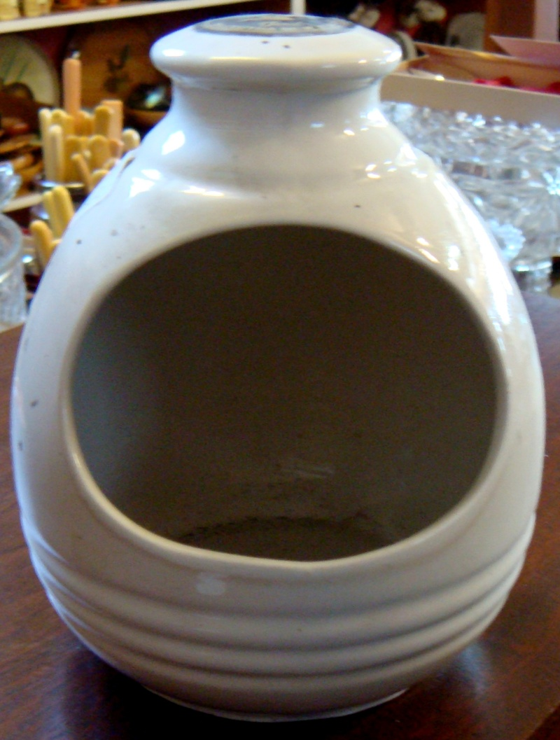 Teal ceramics salt pig 110 Dsc01415