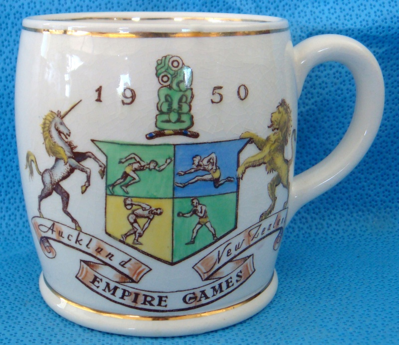 The 1950 Empire Games Mug plus Canterbury Centennial mug Dsc09423