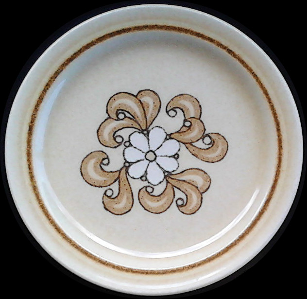 Flower with four swirls pattern is called Serenity d506 Swirl10