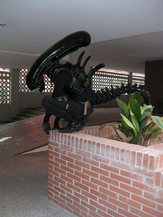 La fuga de Alien, partida abierta (Nocturna) 23.10.13 El Matadero Img-2012