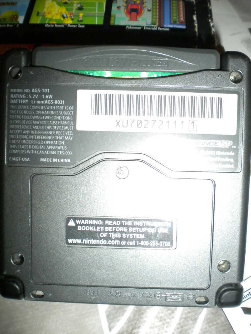 [VENDU] GBA SP Brighter Screen Dscn4710
