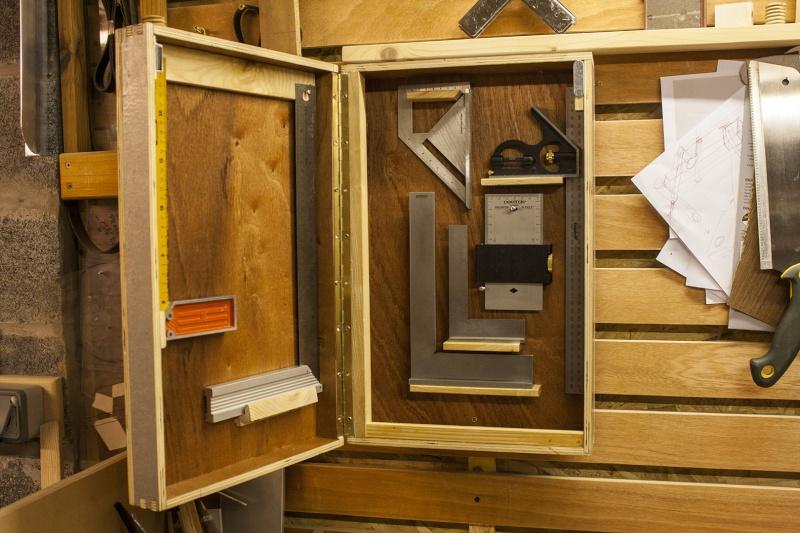 [Fabrication] Table de salon en Robinier étuvé - Page 3 Boite-11