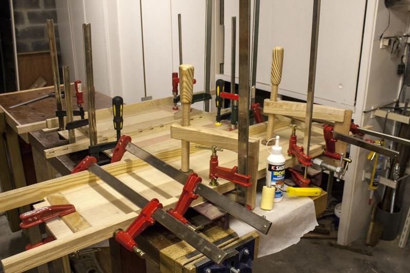 [Fabrication] Un meuble à 9 tiroirs Collag19